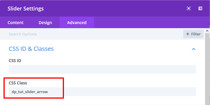 How to change default slider arrow icon on divi slider