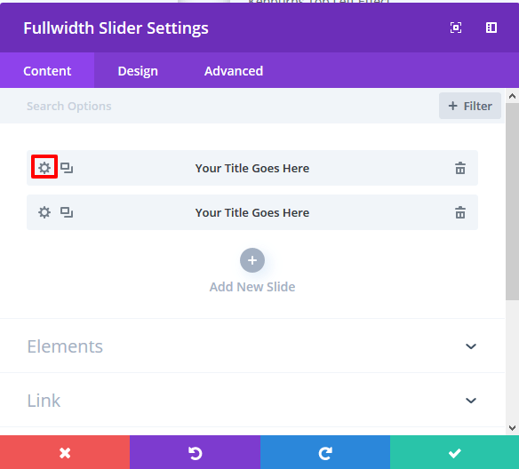 How to add Various Kenburns effects in divi fullwidth slider module