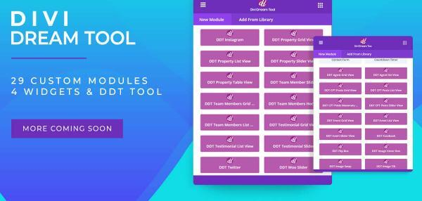 Upcoming Event Section Using Divi Module - Divi Professional